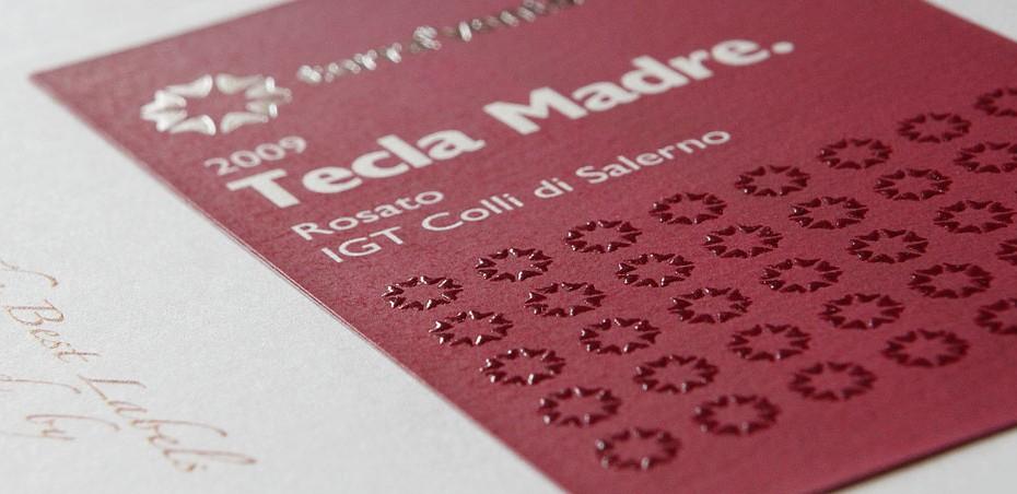 Foto dei particolari di stampa di un'etichetta per la Label Global Service, leader nella stampa di etichette autoadesive